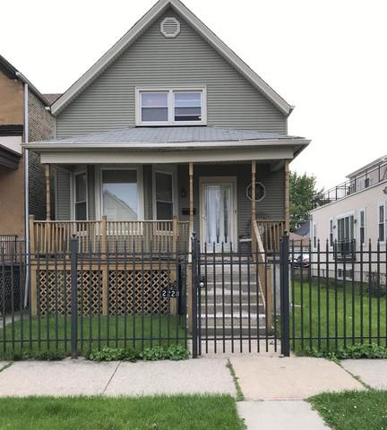 2228 N Keeler Avenue, Chicago, IL 60639 (MLS #10402990) :: The Perotti Group | Compass Real Estate