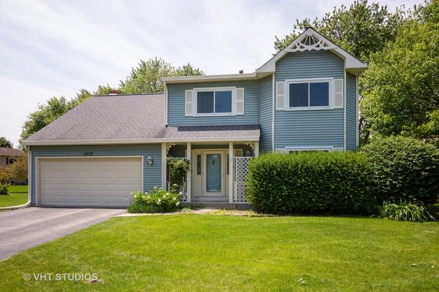 1272 Old Mill Court, Naperville, IL 60564 (MLS #10403788) :: The Wexler Group at Keller Williams Preferred Realty
