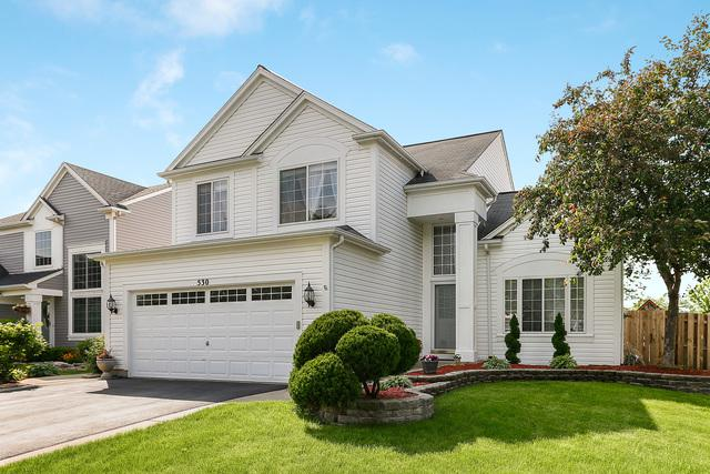 530 Ivory Lane, Bartlett, IL 60103 (MLS #10407113) :: The Perotti Group | Compass Real Estate