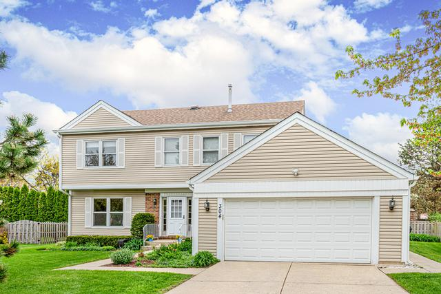 304 Chateau Drive, Buffalo Grove, IL 60089 (MLS #10407921) :: The Perotti Group | Compass Real Estate