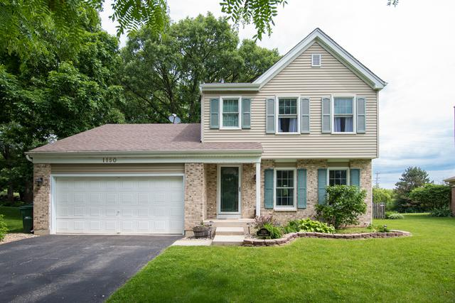 1150 Sumner Circle, Gurnee, IL 60031 (MLS #10408518) :: The Perotti Group | Compass Real Estate