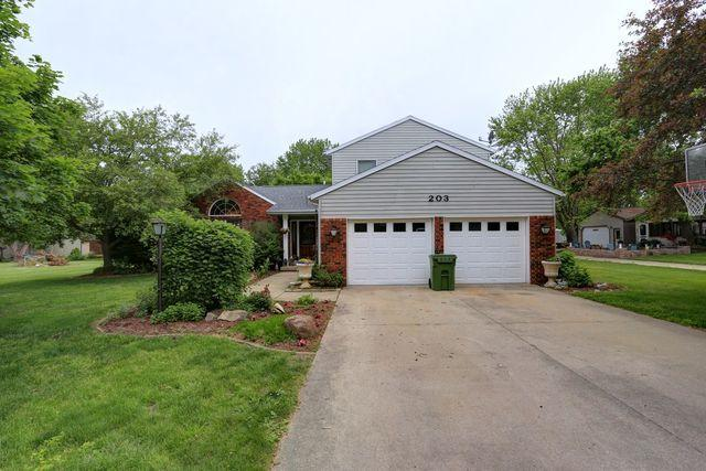 203 Sharon Drive, Mahomet, IL 61853 (MLS #10410686) :: The Dena Furlow Team - Keller Williams Realty