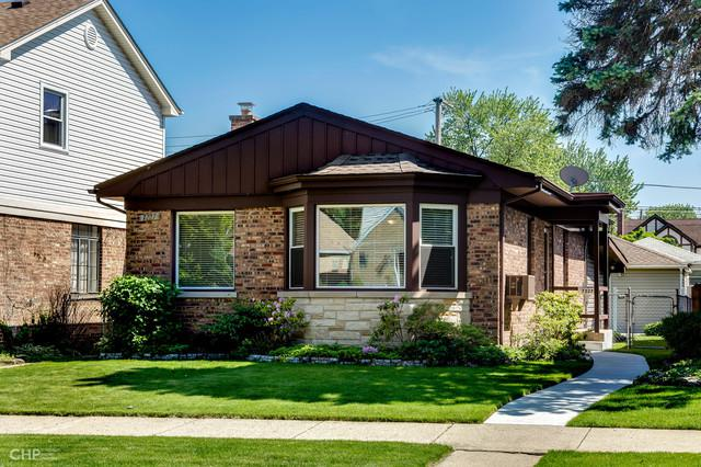 7227 W Greenleaf Avenue, Chicago, IL 60631 (MLS #10413353) :: The Perotti Group   Compass Real Estate