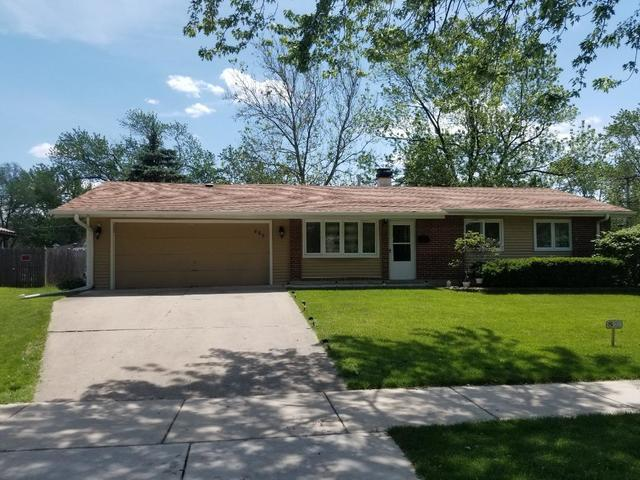 485 Bode Road, Hoffman Estates, IL 60169 (MLS #10414605) :: Angela Walker Homes Real Estate Group