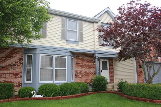 1520 Crowfoot Circle S, Hoffman Estates, IL 60169 (MLS #10416019) :: Angela Walker Homes Real Estate Group