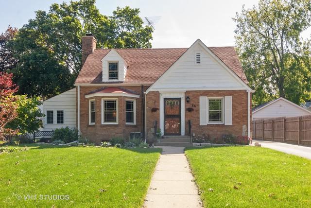 74 E Washington Street, Oswego, IL 60543 (MLS #10416545) :: John Lyons Real Estate