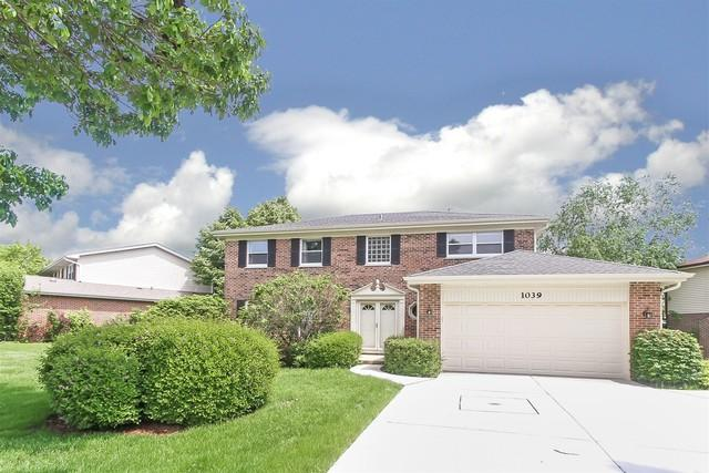 1039 Aegean Drive, Schaumburg, IL 60193 (MLS #10416697) :: Angela Walker Homes Real Estate Group