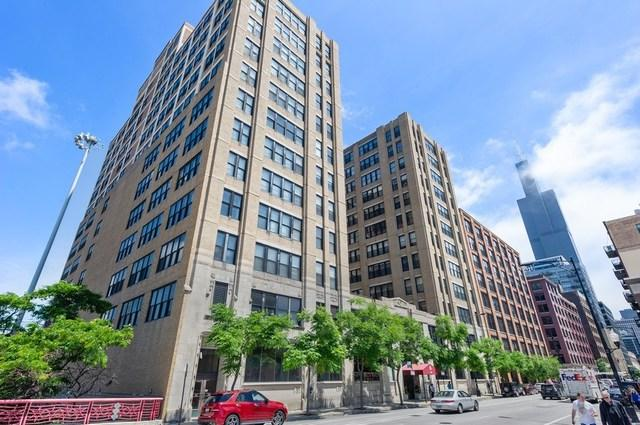 728 W Jackson Boulevard #1210, Chicago, IL 60661 (MLS #10416742) :: Ryan Dallas Real Estate