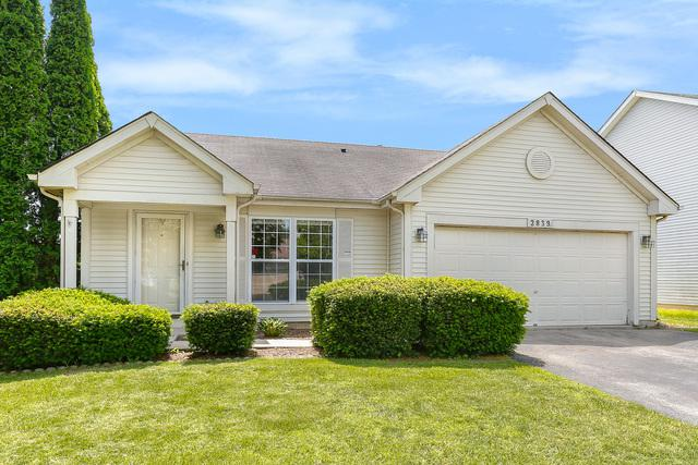 2839 Bluewater Circle, Naperville, IL 60564 (MLS #10416834) :: The Wexler Group at Keller Williams Preferred Realty