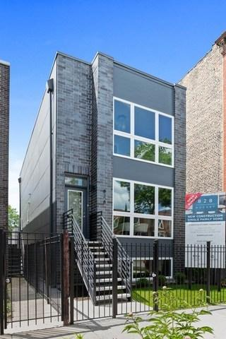 828 N Mozart Street, Chicago, IL 60622 (MLS #10416954) :: Property Consultants Realty