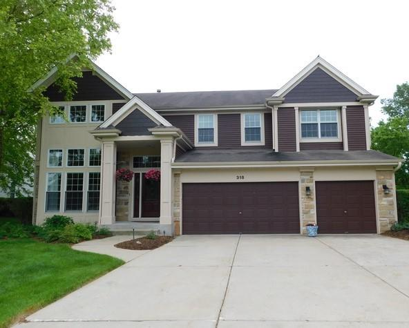 318 Checker Drive, Buffalo Grove, IL 60089 (MLS #10417061) :: The Perotti Group | Compass Real Estate