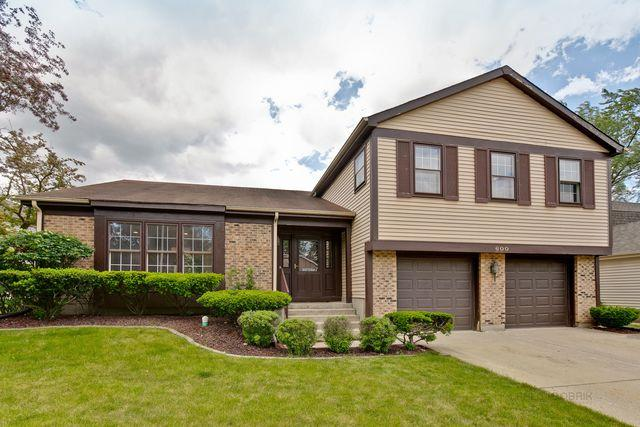 600 Cobblestone Lane, Buffalo Grove, IL 60089 (MLS #10417166) :: The Perotti Group | Compass Real Estate