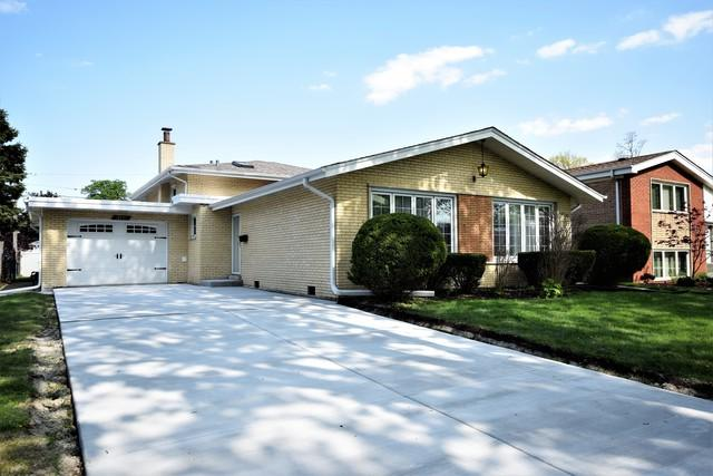 10721 Lawler Avenue, Oak Lawn, IL 60453 (MLS #10418377) :: The Wexler Group at Keller Williams Preferred Realty