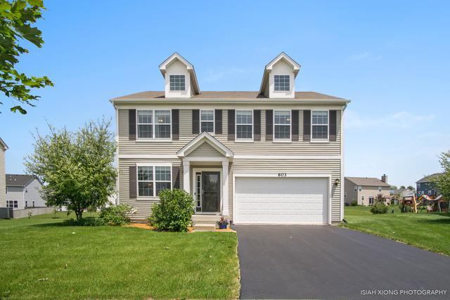 603 Pimlico Street, Oswego, IL 60543 (MLS #10418431) :: John Lyons Real Estate