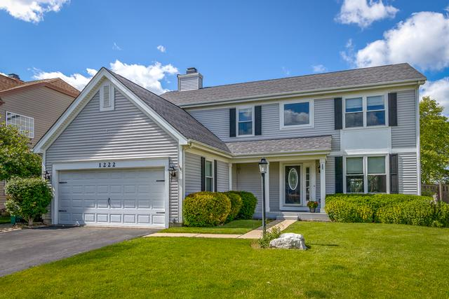1222 Hadley Circle, Gurnee, IL 60031 (MLS #10418453) :: The Perotti Group | Compass Real Estate