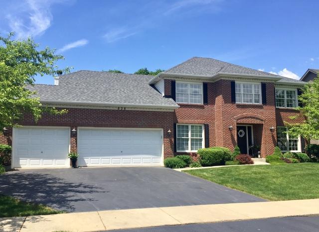 828 Doral Lane, North Aurora, IL 60542 (MLS #10418637) :: The Perotti Group | Compass Real Estate