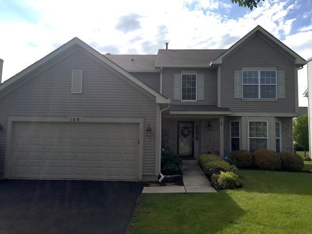 169 N Orchard Drive, Bolingbrook, IL 60440 (MLS #10419388) :: The Dena Furlow Team - Keller Williams Realty