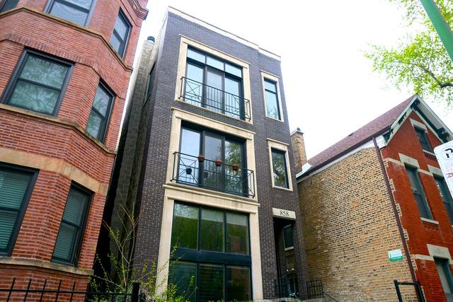 858 N Hermitage Avenue #3, Chicago, IL 60622 (MLS #10419655) :: Property Consultants Realty