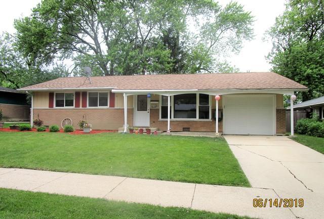 14746 El Vista Avenue, Oak Forest, IL 60452 (MLS #10419912) :: Century 21 Affiliated