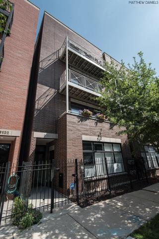 3120 W Walton Street #4, Chicago, IL 60622 (MLS #10420355) :: The Perotti Group | Compass Real Estate