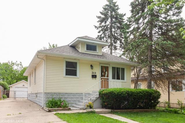 213 S Wisconsin Avenue, Villa Park, IL 60181 (MLS #10420715) :: Angela Walker Homes Real Estate Group