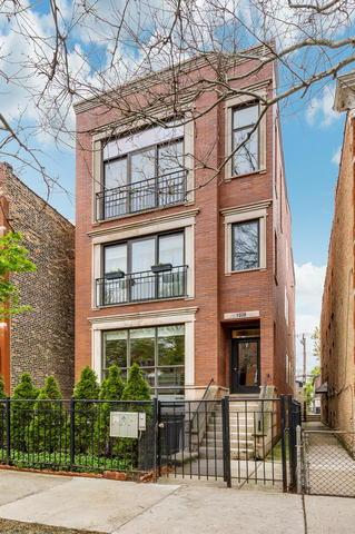 1028 N Wood Street #1, Chicago, IL 60622 (MLS #10421233) :: The Perotti Group | Compass Real Estate
