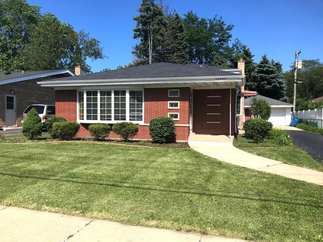 10327 S Kostner Avenue, Oak Lawn, IL 60453 (MLS #10421787) :: Ryan Dallas Real Estate