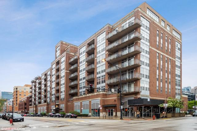 111 S Morgan Street #512, Chicago, IL 60607 (MLS #10422251) :: The Perotti Group   Compass Real Estate