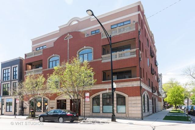 852 N Damen Avenue 2N, Chicago, IL 60622 (MLS #10422285) :: The Perotti Group | Compass Real Estate