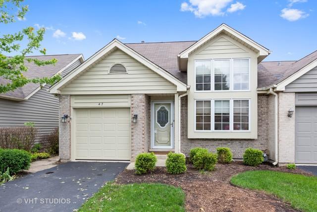 47 Townsend Circle, Naperville, IL 60565 (MLS #10422380) :: Ryan Dallas Real Estate