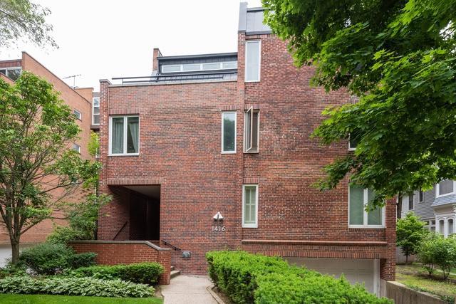 1416 Hinman Avenue #7, Evanston, IL 60201 (MLS #10422507) :: BNRealty