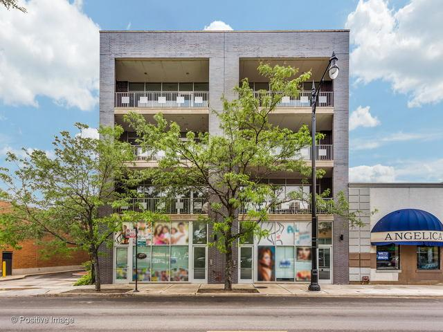 3242 Milwaukee Avenue C1, Chicago, IL 60618 (MLS #10422522) :: The Perotti Group | Compass Real Estate