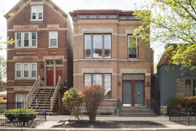 2162 N Bell Avenue, Chicago, IL 60647 (MLS #10422646) :: The Perotti Group | Compass Real Estate