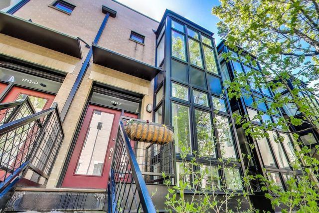 1713 W Diversey Parkway F, Chicago, IL 60614 (MLS #10422824) :: The Perotti Group | Compass Real Estate