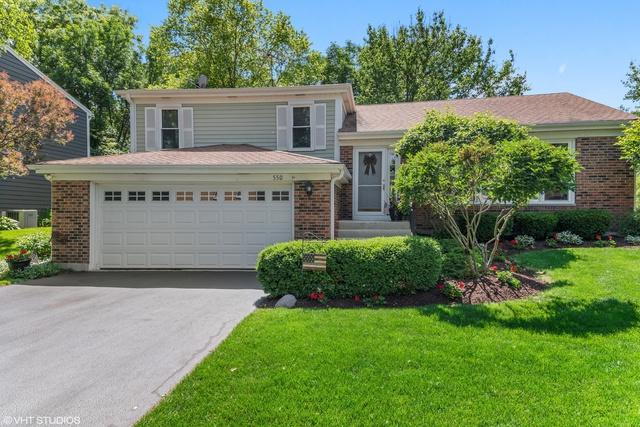 550 Dalton Lane, Roselle, IL 60172 (MLS #10423131) :: The Perotti Group | Compass Real Estate