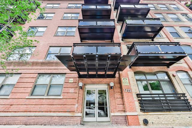 1735 W Diversey Avenue #406, Chicago, IL 60614 (MLS #10423830) :: Ryan Dallas Real Estate