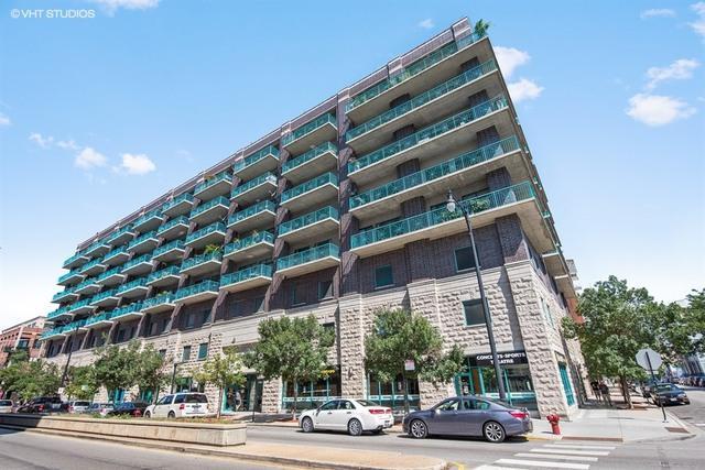 910 W Madison Street #705, Chicago, IL 60607 (MLS #10424144) :: John Lyons Real Estate