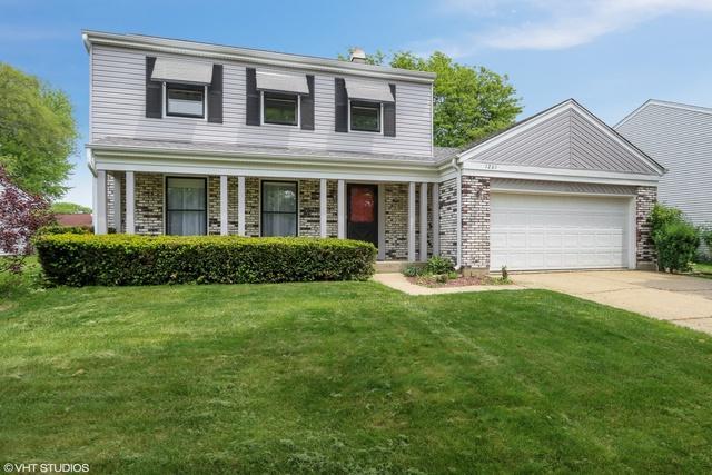 1201 Brandywyn Lane, Buffalo Grove, IL 60089 (MLS #10424780) :: Ryan Dallas Real Estate