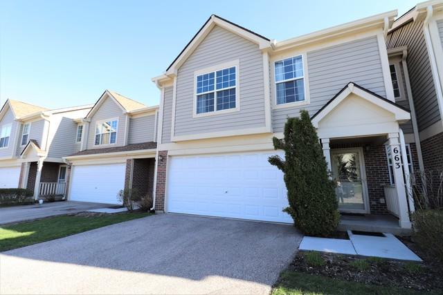 663 E Whispering Oaks Court, Palatine, IL 60074 (MLS #10425183) :: Ani Real Estate