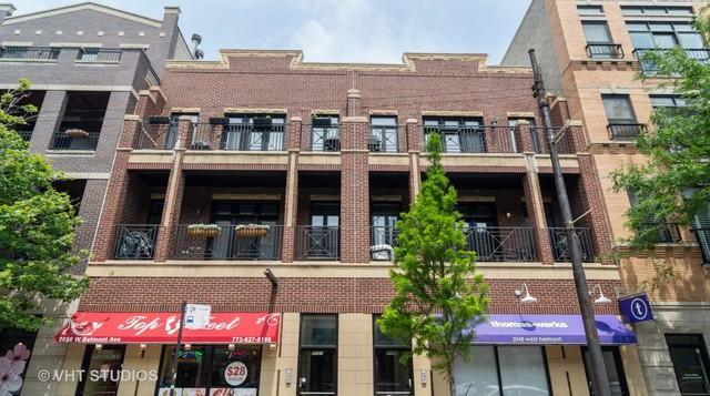 2050 W Belmont Avenue #3, Chicago, IL 60618 (MLS #10425446) :: Touchstone Group