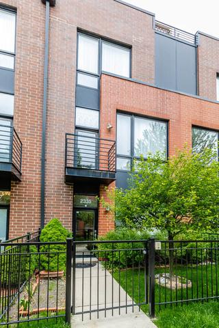 2335 W George Street, Chicago, IL 60618 (MLS #10429565) :: Baz Realty Network | Keller Williams Elite