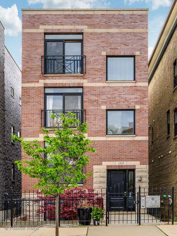1319 N Bosworth Avenue #3, Chicago, IL 60642 (MLS #10430057) :: Baz Realty Network | Keller Williams Elite