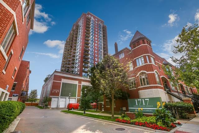 1717 S Prairie Avenue #1104, Chicago, IL 60616 (MLS #10430538) :: Touchstone Group