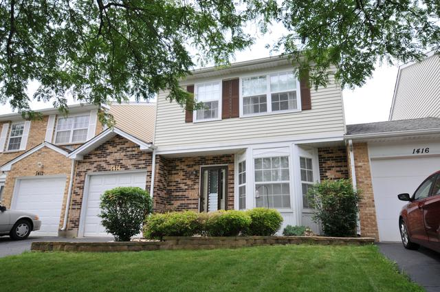 1414 Oxford Street, Carol Stream, IL 60188 (MLS #10431592) :: Touchstone Group