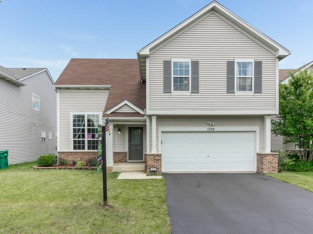 1534 Alisha Lane, Romeoville, IL 60446 (MLS #10431963) :: Berkshire Hathaway HomeServices Snyder Real Estate