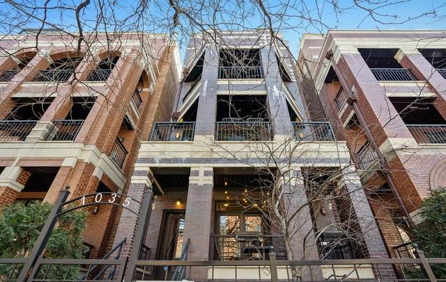1035 W Monroe Street #1, Chicago, IL 60607 (MLS #10433658) :: Property Consultants Realty