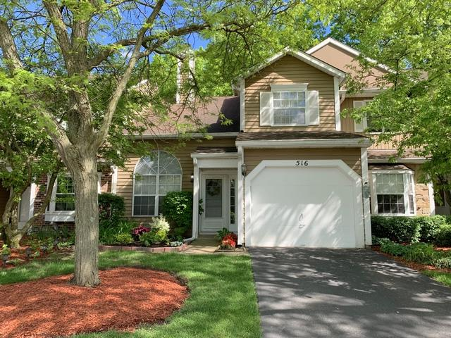 516 Ascot Lane, Streamwood, IL 60107 (MLS #10434576) :: The Wexler Group at Keller Williams Preferred Realty
