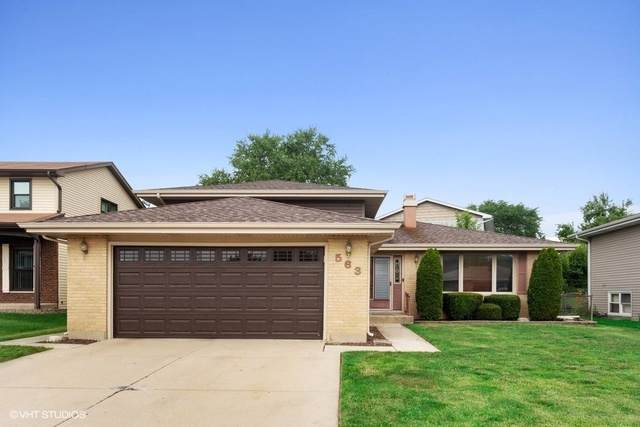 563 Fawn Court, Carol Stream, IL 60188 (MLS #10435035) :: The Wexler Group at Keller Williams Preferred Realty