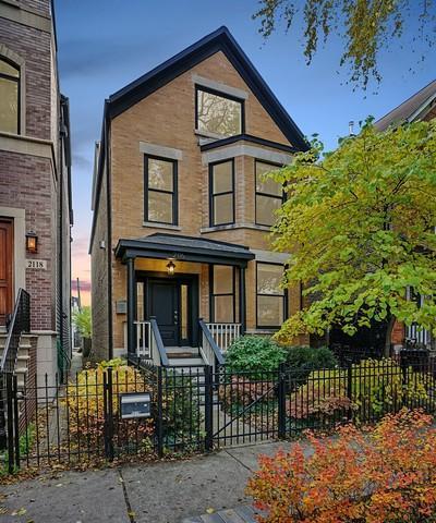 2116 W Melrose Street, Chicago, IL 60618 (MLS #10435364) :: Angela Walker Homes Real Estate Group