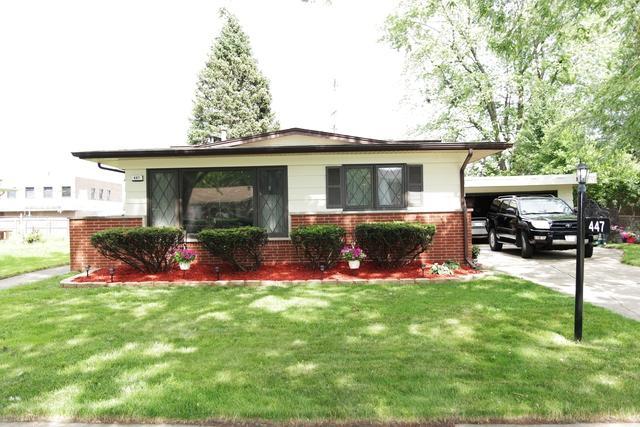 447 N Virginia Avenue, Glenwood, IL 60425 (MLS #10437081) :: The Mattz Mega Group